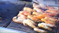 Grilling seafood video