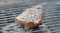 Grilling Steak video