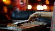 Grilling Steaks video