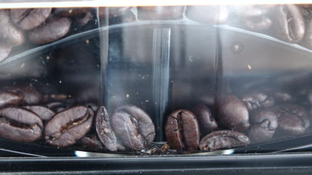 Grinding Coffee video