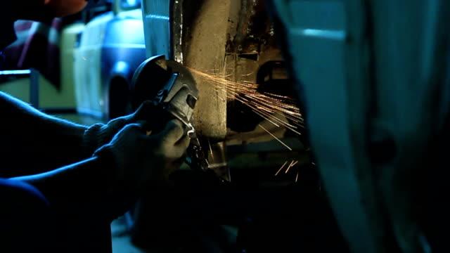 Grinding Steel video