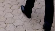 Groom walking before wedding ceremony video