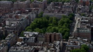Grosvenor Square  - Aerial View - England, Greater London, City of Westminster, United Kingdom video