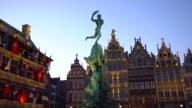 Grote Markt in Antwerp, Realtime video