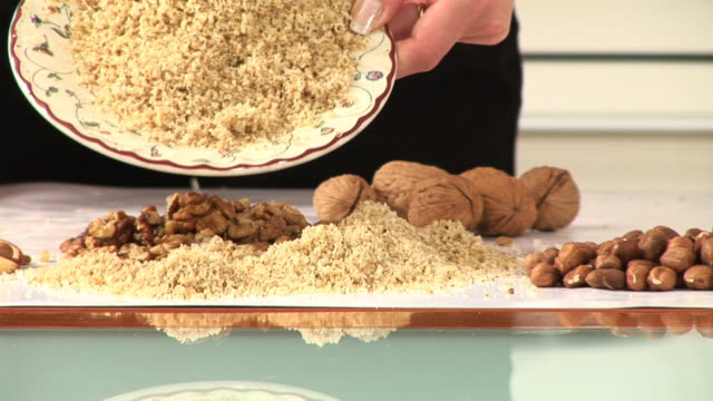 HD: Ground Walnuts video