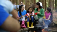 Group of Children on a Field Trip video