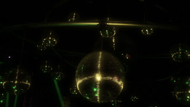 Group Of Disco Ball And Light video