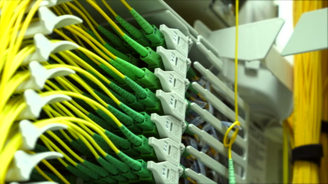 Group of Fiber optic wire video