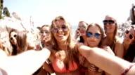 Group of Girls Taking Selfie video