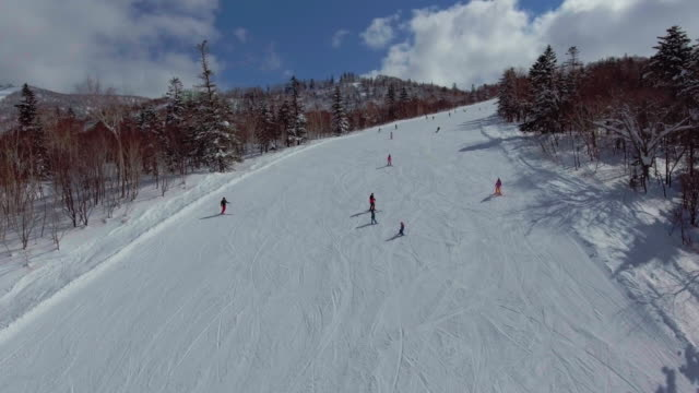 Group of people Skiing video