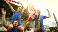 Group of Usa supporters video