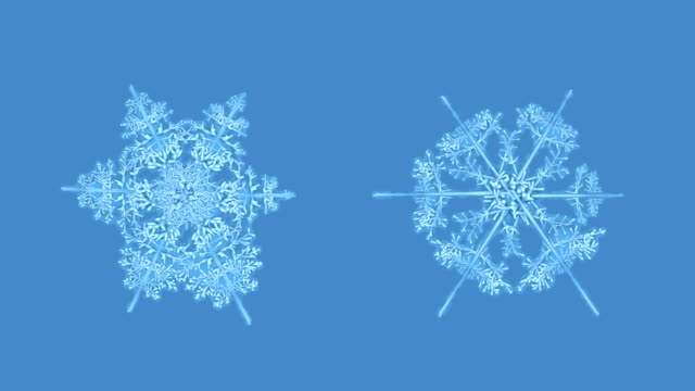 Growing snowflakes with alpha, #2 video