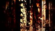 Grunge dirty background - digital animation video