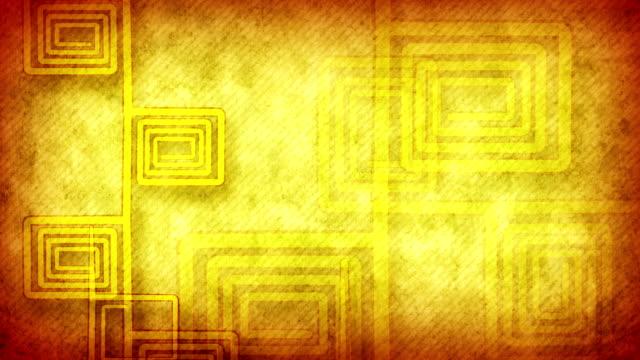 grunge flourish yellow loopable background video