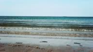 Grunge Slider Shot Of A Calm Sea video