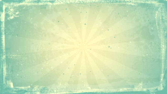 grunge vintage rays loopable background video
