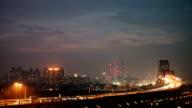 Guangzhou busy traffic video