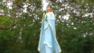 Guanyin Statues attractions Buddhist public. video