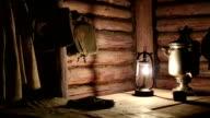 Guerrilla dugout during the second world war video