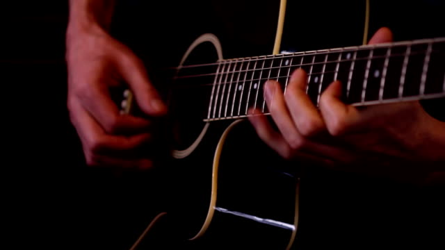 Guitar player (HD) video