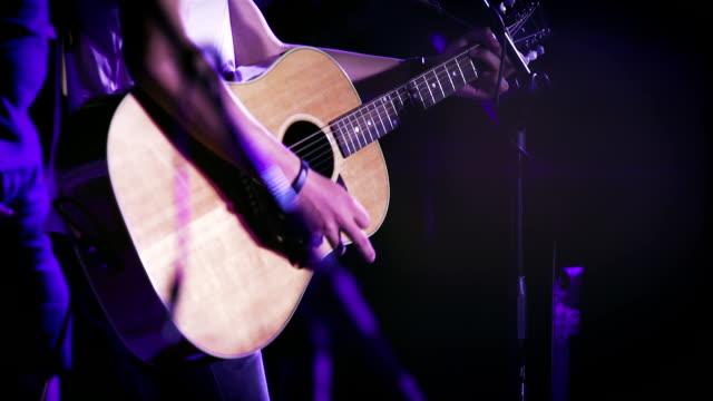 Guitar player video