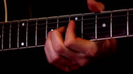 Guitar playing (HD) video