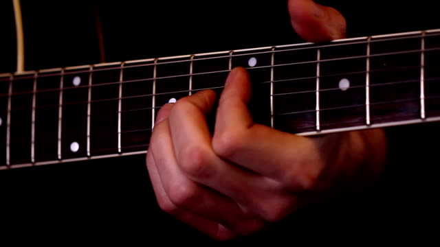 Guitar playing (HD) video