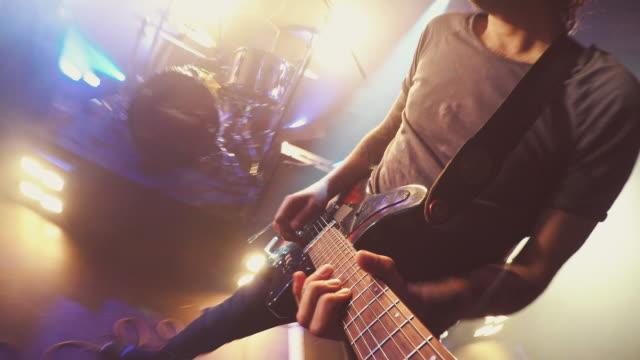 POV of guitar video