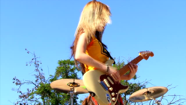 Guitarist Girl video