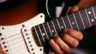 Guitarist Playing Solo on Guitar video