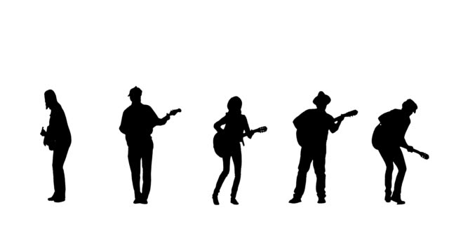 Guitarist Silhouettes video