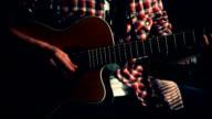 Guitarist. video