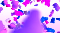 Gummy Bear Swirl Pink Purple and Blue video