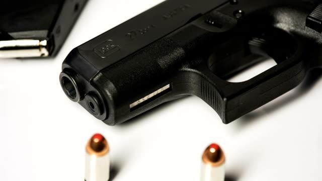 Gun and Ammunition High Spinning video