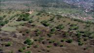 Gun Emplacements Overlooking Ladysmith  - Aerial View - KwaZulu-Natal,  uThukela District Municipality,  Emnambithi/Ladysmith,  South Africa video