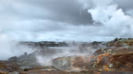 Gunnuhver Geothermal Area, Iceland video