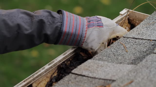 Gutter Cleaning Dolly Angle video