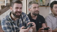 Guys Playing Video Games video