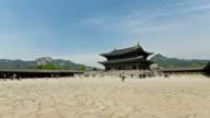 Gyeongbokgung Palace - Time Lapse video