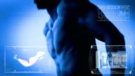 Gym monitor video
