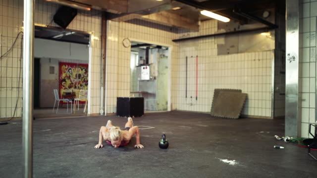 gym workout video