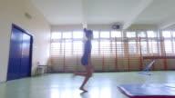 4K: Gymnastics. video
