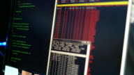 Hacker Attack Loopable program code video