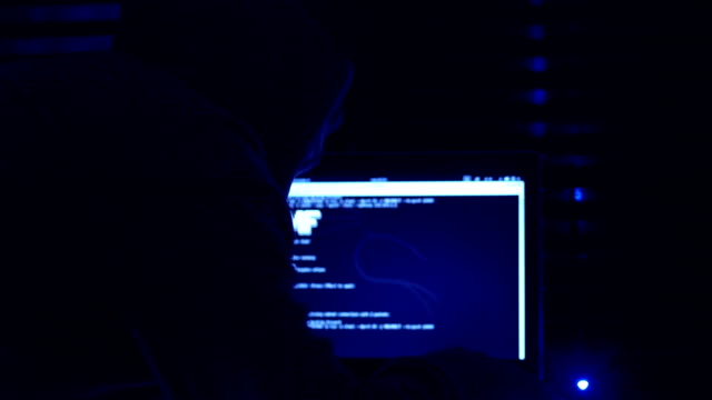Hackers working intensively to its strategy in the dark video