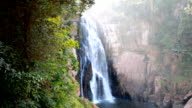 Haew Narok waterfall kao yai national park World Heritage,Thailand, HD 1920x1080 clip. video