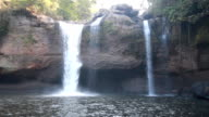 Haew suwat waterfall kao yai national park World Heritage. video