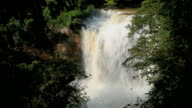 Haew suwat waterfall kao yai national park World Heritage,Thailand. video