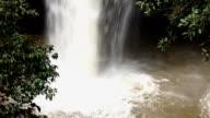 Haewsuwat waterfall at Khaoyai nationalpark, Thailand video