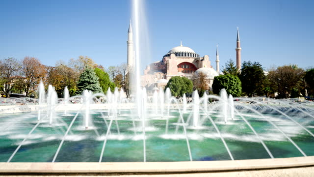 TIME LAPSE: Hagia Sophia and time lapse video