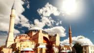 Hagia Sophia in Istanbul. The world famous monument of Byzantine architecture. video